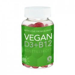 Vegan D3+B12 60st