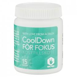 CoolDown För Fokus 15 Kapslar