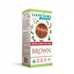 Örthårfärg Brown 100g EKO