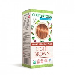 Örthårfärg Light Brown 100g...