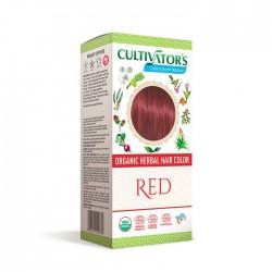 Ekologisk Örthårfärg Red 100g