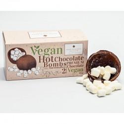 Chokladbomb m. marshmallows