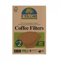 Kaffefilter No. 2 100 st