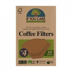 Kaffefilter No. 4 100 st