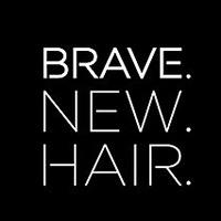 Brave. NEW. HAIR. Logo Veganhuset